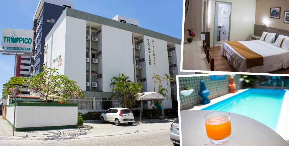 Trópico Praia Hotel em Maceió